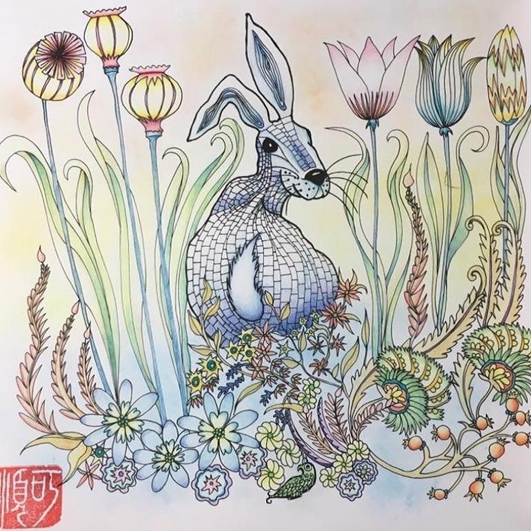 Watercolour Hare_770