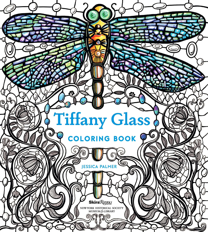 Rizzoli Commissioned Tiffany Glass Coloring Book – Jessica ...